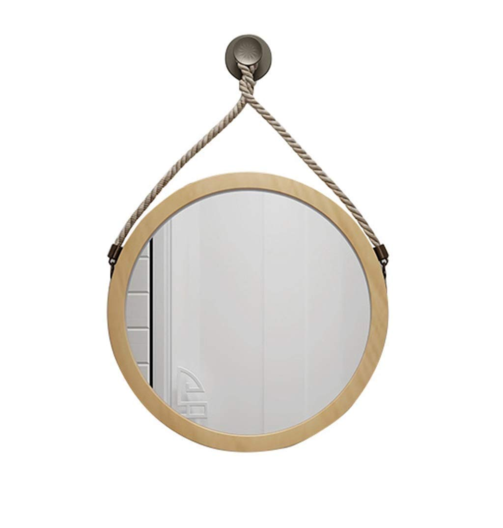 【中古】 ラウンドぶら下げミラー大型木製フレームウォールミラー現代のファッション装飾ミラー用入り口チャンネル浴室リビングルーム研究 (色 : B07QR45FYL B, 60 サイズ さいず 60 : 80cm) B07QR45FYL 60 cm 60 cm B B 60 cm 60 cm, CHRONO:7f35d2df --- phribeiro.com.br