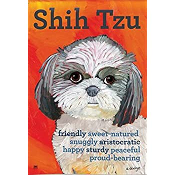 This Item BreezeArt Shih Tzu Garden Flag #31182