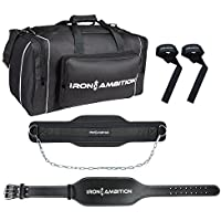 Iron Ambition's Ultimate Weightlifting Bundle [4 Items]:...
