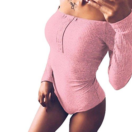 OHQ Un Mot D'Paule Manches Longues Pantalons SerrS Noir Kaki Rose Gris Bleu Mode Femme Taille Haute De Ski Fille Ans Enceinte Grossesse Slim Grande Velours Cotel Femmes Solide Rose