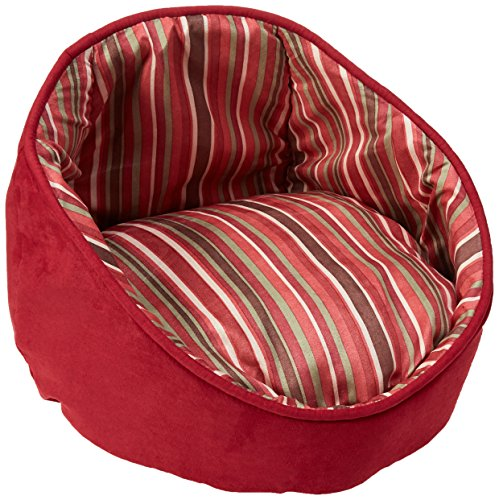 Midwest Homes for Pets Reversible Cherry Cabana Bed with Stripes by MidWest Homes for Pets