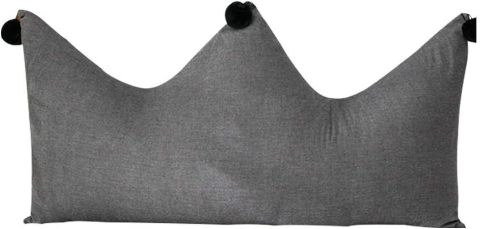 ヘッドボードピロー、ソフトピローベッドパック、取り外し可能および洗える綿、サイズ6(色:A、サイズ:180 cm)