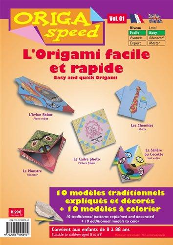 Origami Facile Et Rapide Origaspeed Vol 1 Amazonfr Jeux Et Jouets