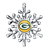 NFL Green Bay Packers Snowflake Ornament