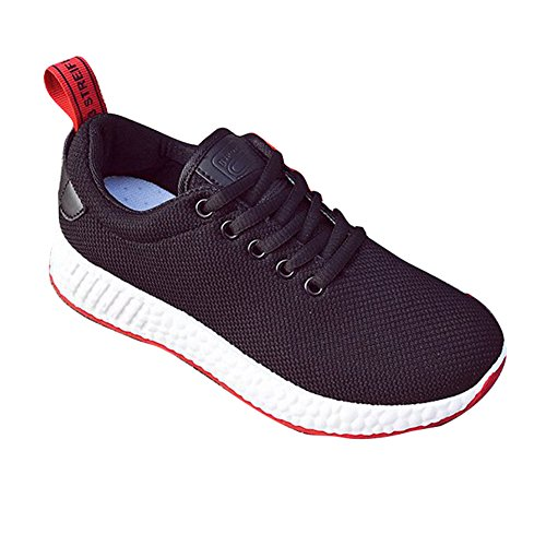 Running Black Walking School Sneakers Lace Trainers Gym Outdoor Leisure Up Shoes Ladies Summer 40 35 Sport Womens Breathable Meedot Shoes Flats 8cA7Rcq