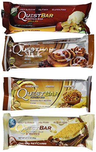 Quest Nutrition- Quest Bar Variety Bundle Dessert 12 Pack (Quest Bars Dessert compare prices)