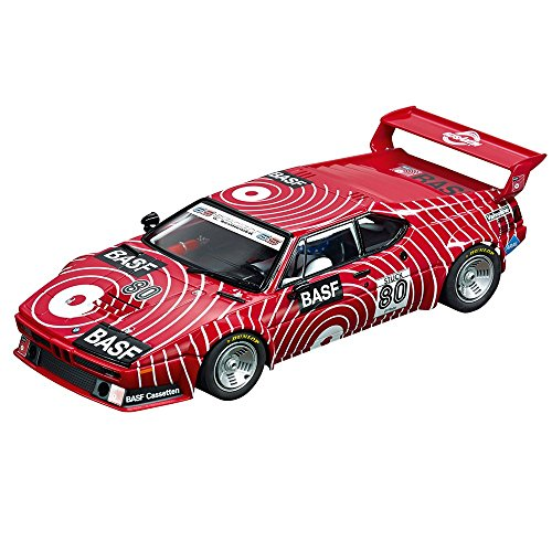 Carrera BMW M1 Procar BASF No.80 1980 w/ Lights 1/24 Slot Car from Carrera