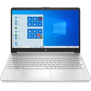 HP 15s eq0007au 15.6-inch Laptop (3rd Gen Ryzen 3 3200U/4GB/256GB SSD/Windows 10/MS Office 2019/Radeon Vega 3 Graphics), Natural Silver