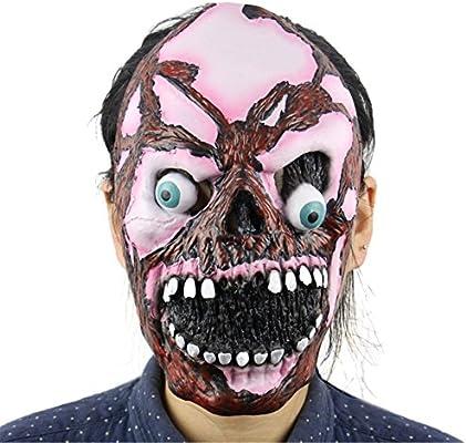 greasto 1 pc Halloween Scary máscaras de látex disfraz vestido ...