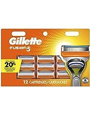Gillette Fusion5 Men's Razor Blade Refills, 12 Refills