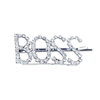 2a5ff0cdb7 Amazon.com: ZUI-R Rhinestone Hair Pins, Women Minimalist Full ...