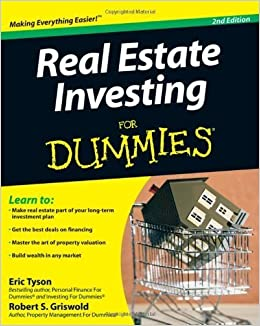 Real Estate Investing For Dummies by Tyson, Eric, Griswold, Robert S. (2009)