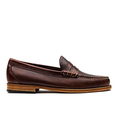 G H Bass Men's Weejuns Larson Pull Up Leather Penny Loafer