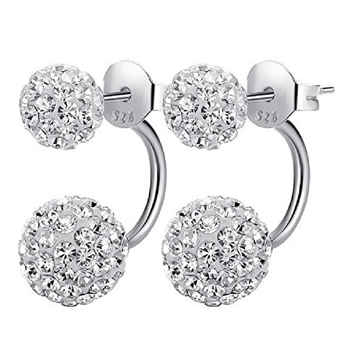 SmallDragon Womens Sterling Crystal Earrings product image