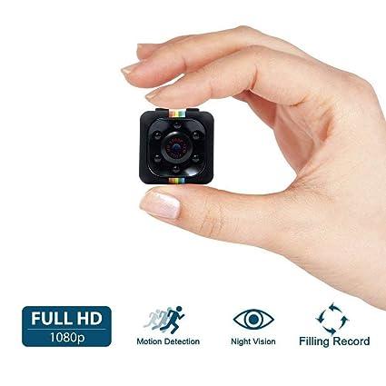 Cámara Espía, HD 1080P UYIKOO Mini Cam Surveillance Cámara con visión nocturna y detección de