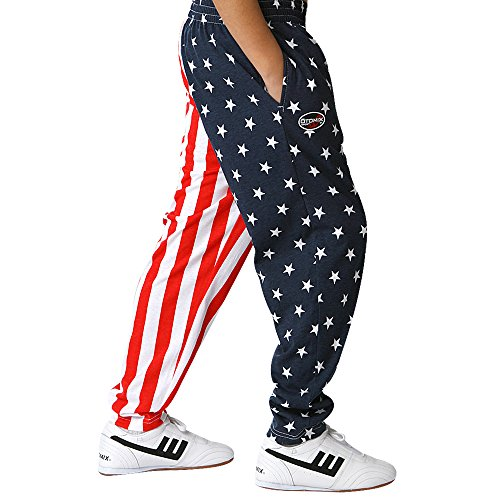 Otomix Youth Kids American Flag USA Baggy Pants (Youth LG)