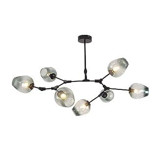 $Beleuchtung Moderne Pendelleuchte Deckenleuchte Mit Küche Wohnzimmer  Esszimmer Leuchte Designer Glas Magische Bohne Kronleuchter Innenleuchten