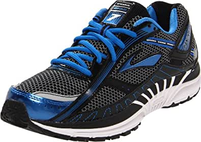 Brooks Men's Dyad 7 Running Shoe,Skydiver/Black/Silver,7 D US