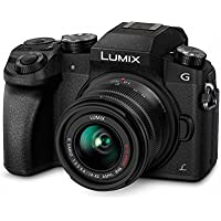 Panasonic Lumix DMC-G70/DMC-G7 Mirrorless Micro Four Thirds Digital Camera with 14-42mm Lens (Black) - International Version (No Warranty)