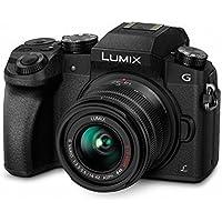 Panasonic Lumix DMC-G70/DMC-G7 Mirrorless Micro Four Thirds Digital Camera with 14-42mm Lens (Black) - International Version (No Warranty)
