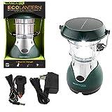Nebo WeatherRite 5959 Eco Lantern 24 Super Bright LEDs Solar Power or Wind Up Energy
