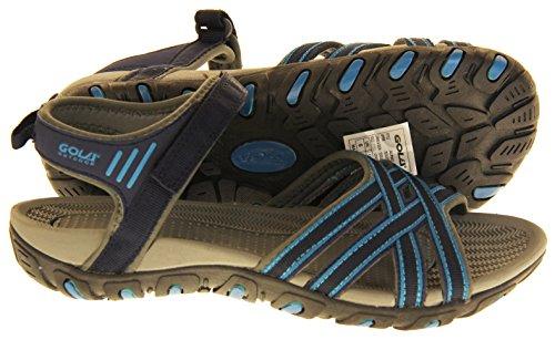 Femmes Bleu Bleu Randonnée Sandales De Marine Gola Chaussures et RwAqOR