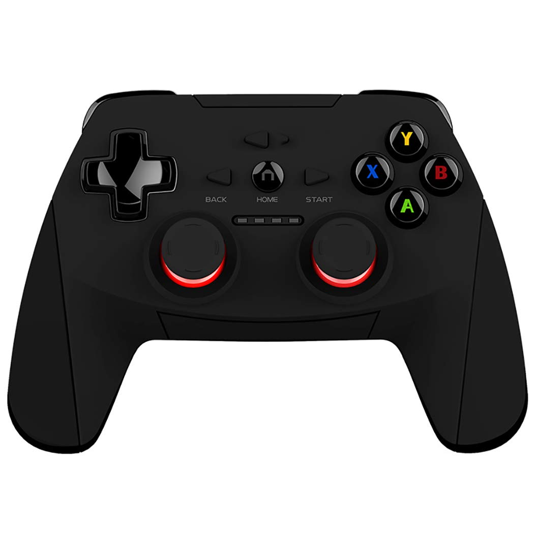 Black Bluetooth Gamepad for Mobile Phone, Computer, TV, Tablet