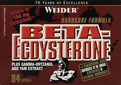 Weider, Beta-Ecdysteron, 1er Pack (1x 84 Kapseln)