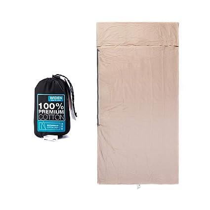 CXJC Forro para Saco De Dormir 210 * 75cm Plegable Fácil De Llevar para Hoteles Camping