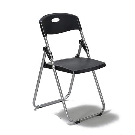 Amazon.com: Silla de comedor plegable, respaldo de silla ...