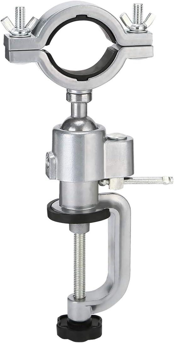 Soporte de sujeción para banco de 360 grados, soporte de taladro eléctrico para trabajo universal