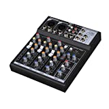 Audio 2000s AMX-7303B-USB Audio Mixer 4 Channel Sound Board
