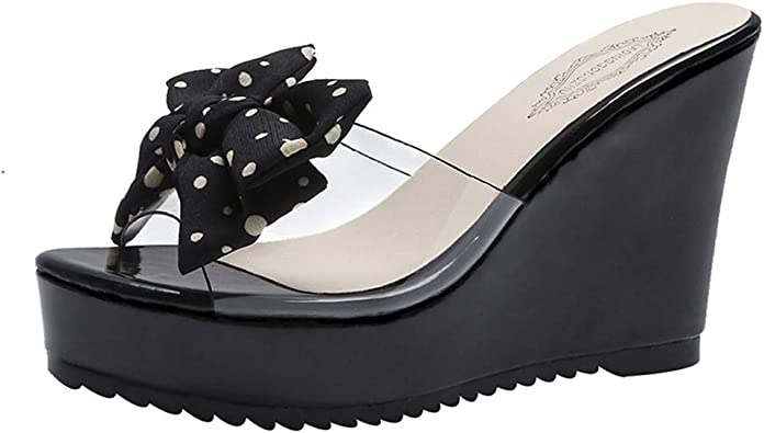 NEARTIME Women Fish Mouth Sandals