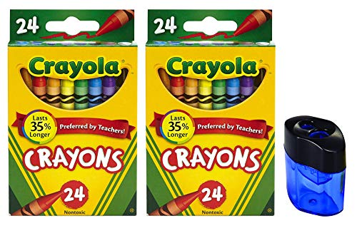 Crayola Crayons, 24 Count, 2 Pack and