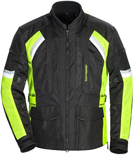 (TourMaster Men's Sonora Air 2.0 Jacket Black/Hi-Viz XX-Large)