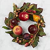 Factory Direct Craft Farmers Market Artificial Fruit Wreath Decor for Home Design