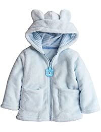 eaa9c5174adae Toddler Baby Boys Girls Cartoon Fleece Hooded Jacket Coat with Ears ·  EGELEXY