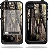 Mightyskins Protective Vinyl Skin Decal Cover for LifeProof iPhone 4 / 4S Case wrap sticker skins Tree Camo
