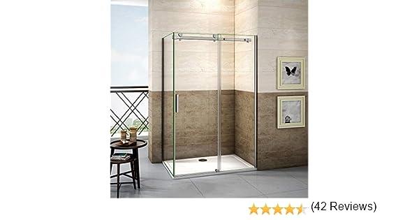 120x80x195cm Mamparas de ducha cabina de ducha 8mm vidrio templado ...