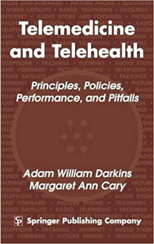 Telemedicine and Telehealth: Principles, Policies, Performance and