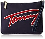 Tommy Hilfiger Aurora Embellished Canvas Clutch