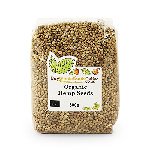Buy Whole Foods Organic Hemp Seeds 500 g