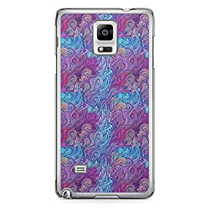 Hairs Samsung Note 4 Transparent Edge Case - Design 5