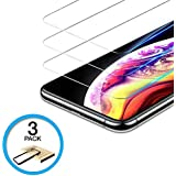 Screen Protector Designed for Apple iPhone Xs Max(Clear, 3 Packs) 0.25mm iPhone Xs Max Tempered Glass Screen Protector with Alignment Case Frame [3D Touch]