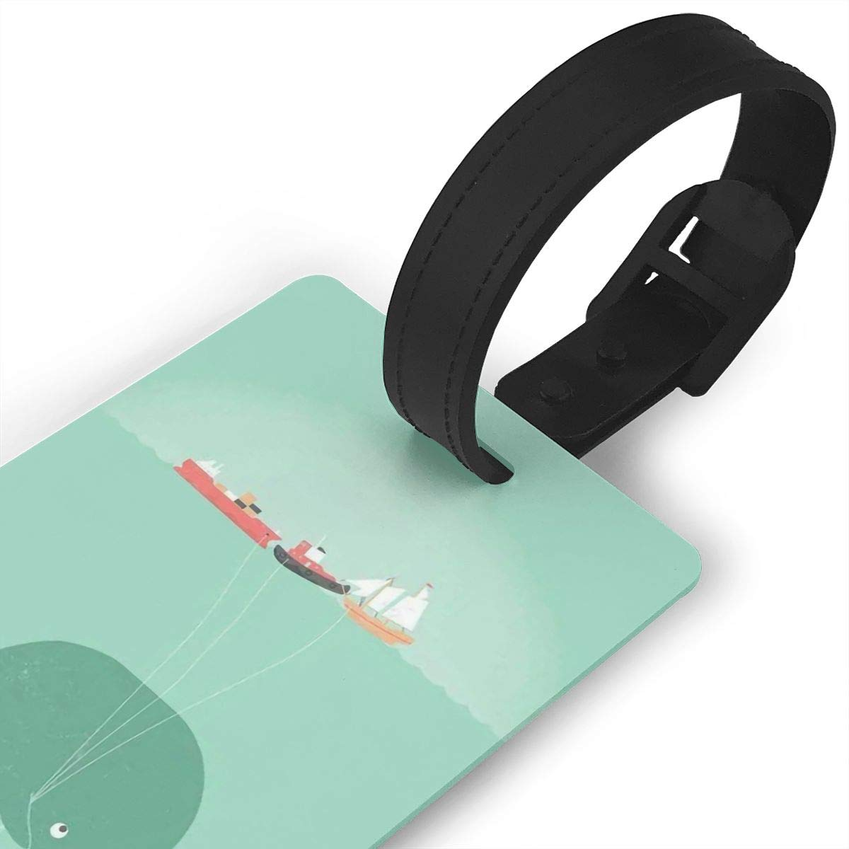 Whales Handbag Tag For Suitcase Bag Accessories 2 Pack Luggage Tags