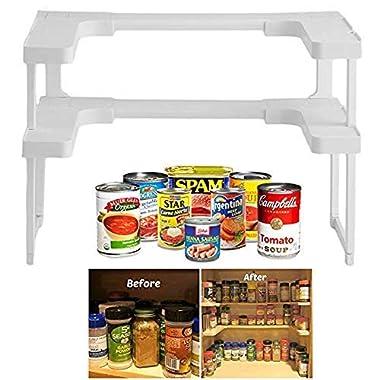 Spice Shelf Spice Rack and Cupboard Organizer