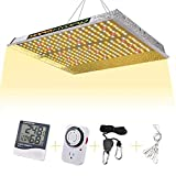 MARSHYDRO TS 1000W Led Grow Light Full Spectrum for Indoor Plants Veg...