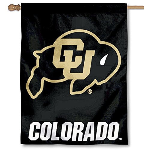 College Flags and Banners Co. University of Colorado Buffaloes House Flag