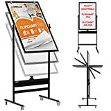 Mobile Whiteboard with Stand - 36x24 Adjustable