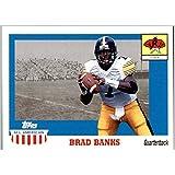 2003 Topps All American #148 Brad Banks RC IOWA HAWKEYES ROOKIE